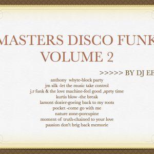 Masters disco funk vol 2