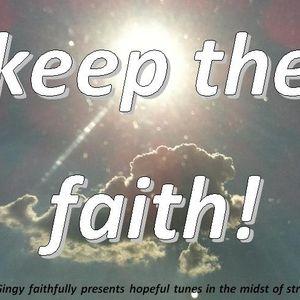 keep the faith!  BeinkGingy faithfully presents hopeful tunes in the midst of struggle