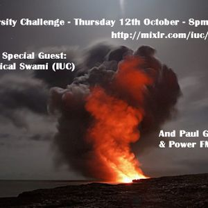 Diversity Challenge with Guest - Swami on IUC October 2017
