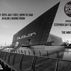 20th July Avalon mixing room sessions (live set) Part1