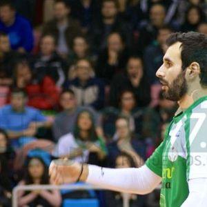 Δημήτρης Ριζόπουλος MVP 9ης Αγωνιστικής Volleyleague