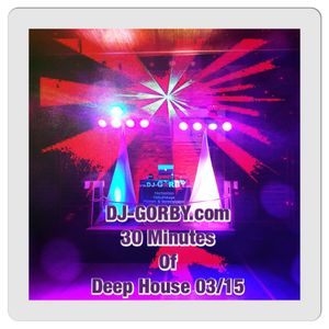 DJ-GORBY.com 30 Minutes of Deep House 03/15