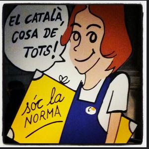 El català avança.
