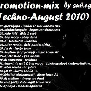 promotion-mix(techno-August 2010) by sub.ego