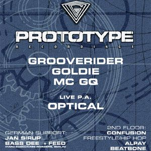Goldie & Mc GQ // Prototype Night @ MS Connexion Mannheim, Germany (20.02.1998)