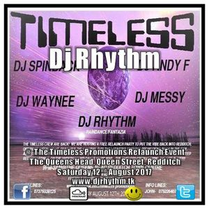 Dj Rhythm @ The Timeless Relaunch Event, The Queens Head, Redditch. Saturday 12th August 2017