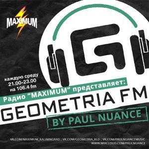Paul Nuance - Geometria FM @ Maximum Kaliningrad 21.11.16 Pt.1