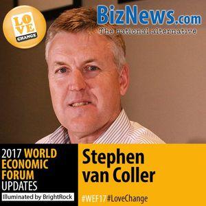 Stephen van Coller: Meet the world's disruptors – blockchain and management
