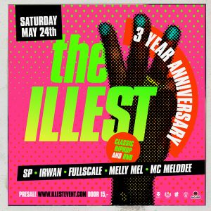 The illest 3yr anniversary  2014 mixtape by FULLSCALE