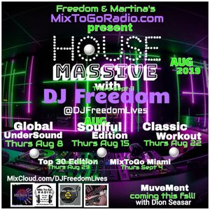 DJ Freedom Presents House Massive Featuring Joey Negro - Classic Workout (Summer 2017 + 2019)