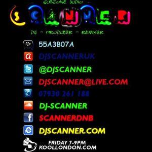 DJ SCANNER & MC L.A ON KOOL LONDON 25-09-15