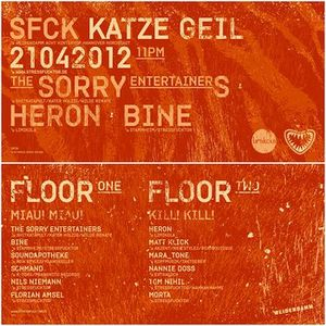 Soundapotheke @ Stressfucktor Presents Katze Geil - Weidendamm Hannover - 21.04.2012