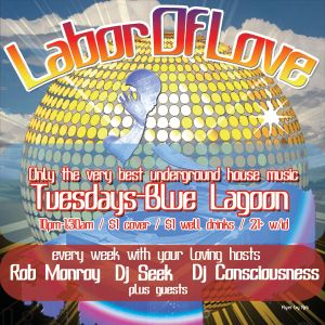 Dj Seek Live at Labor Of Love - Bday party 06/29/10