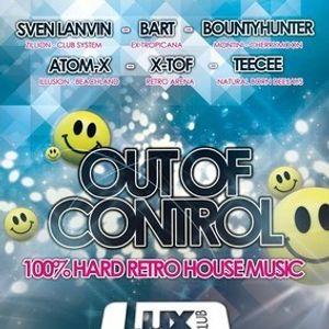 dj X-Tof @ Club Lux - RETRO 30-04-2012