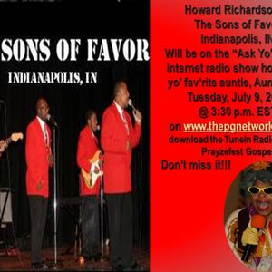 Ask Yo Auntie Radio Show featuring The Sons of Favor