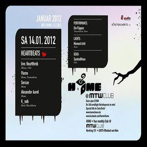Pierre @ Home-Heartbeats - MTW Offenbach - 14.01.2012