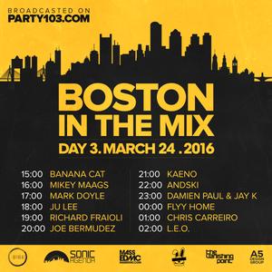 Chris Carreiro - Boston In The Mix