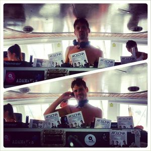 SHONKY / Live from the Cirque de la Nuit boat party / 23.08.2013 / Ibiza Sonica