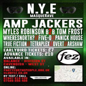 The Amp Jackers @ Fez Club NYE 2014