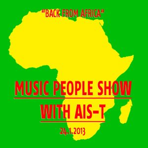 Music People with Ais-T at Basso Radio FM 24.01.2013
