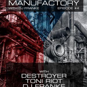 Czech Techno Manufactory with Dj Franke. Episode #4 [Part 2] : Toni Riot