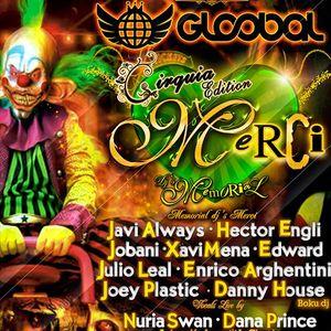 MERCI CIRQUIA PART.1 10.5.2014 GLOOBAL CLUB