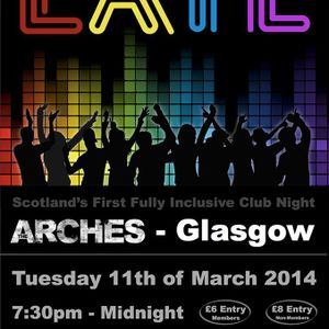 Rory Hoy - Live @ The Arches, Glasgow (March 11th 2014)