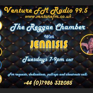 Jennisis - The Reggae Chamber (02-01-18) www.venturefm.co.uk