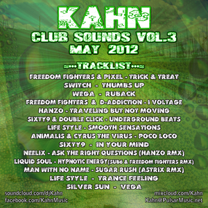 KAHN - Club Sounds Vol.3 - May 2012