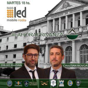 #Podcast La Hora Privanza | 28.11: Toda la actualidad político-policial, entrevista a Sergio Doval