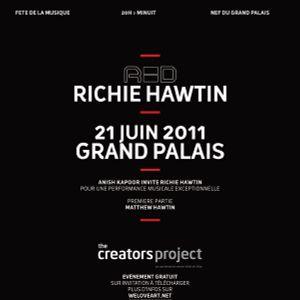 Richie Hawtin Live @ Red,Grand Palais - France (21.06.11)