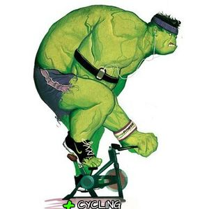 SPINNING -- HULK CYCLING -- BY ALFRED