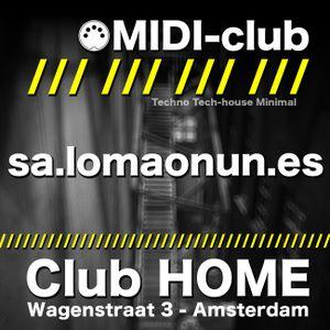sa.lomaonun.es @ MIDI-club // One Night with... at Club HOME - 20-04-2012