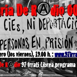FdR 008 Ni CIEs ni deportaciones ni prisiones