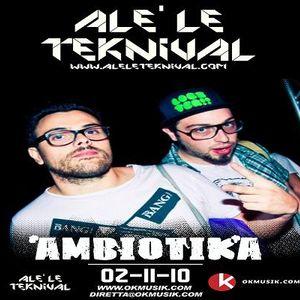 Alè Le Teknival 02.11.2010 - AMBIOTIKA