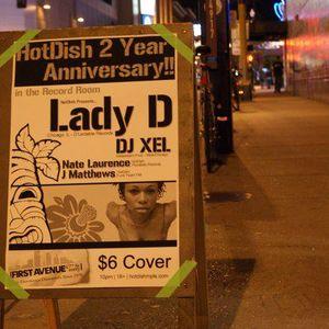 DJ Lady D LIVE @ Hot Dish-MPLS 2 Year Anniversary!