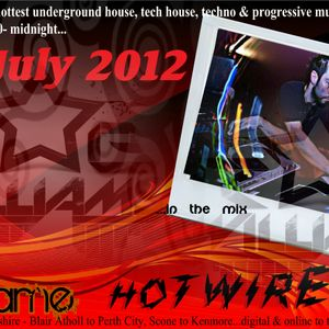 HOTWIRED with Nikki Flame & Rob Williams 4th July 2012