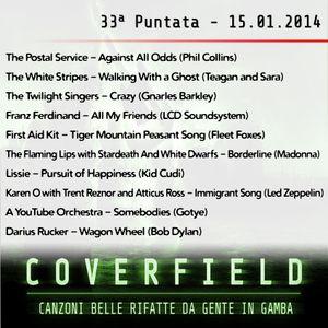 Coverfield - puntata 33 (15-01-2014)