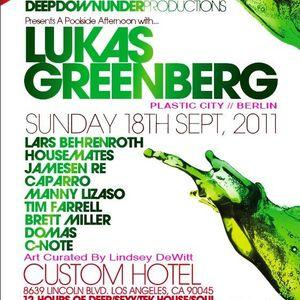 Live @ The Custom Hotel 09/18/2011