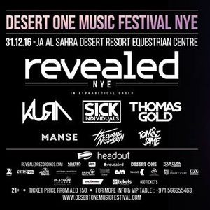 Desert One Music Festival presents Revealed NYE 17 Promo Mix feat. the best of Revealed from 2016