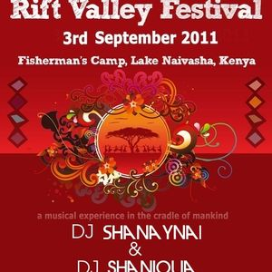 Rift Valley Music Festival - Dj Shanaynai & Dj Shaniqua 03-09-2011