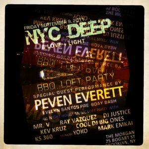 Live at NYC Deep September 2011