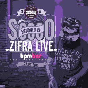 zifra live #SooooHouse @bpm bar 27-03-15