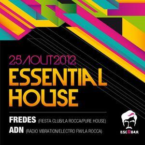Al Fonso alias ADN live @l'Escobar le 25-08-12