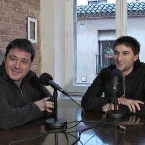 L'entrevista amb Leandre Romeu i Josep Saperes.