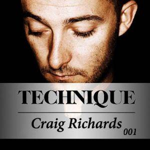 Craig Richards - Technique Podcast   March 2010
