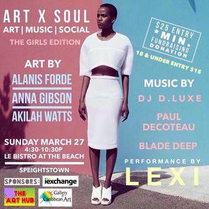 DJ Paul DeCoteau - Art X Soul(The Girls Edition)