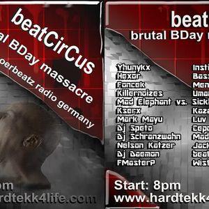 beatCirCus @ beatCirCus brutal bday massacre on sthoerbeatz radio germany 22.07.11