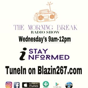 the Morning Break Radio Show 9-20-17