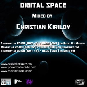 Digital Space Episode 032 - Mixed by Christian Kirilov (Guest Mix by Gopz)